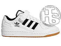Мужские кеды Adidas Originals Forum Low Black/White-Gum G25813