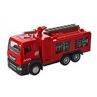 Коллекционная металлическая инерционная модель (детская машинка) - Пожарная машина, 5001-5002