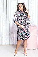 1c620f0fc2bb226 Платье рубашка больших размеров — купить недорого у проверенных ...