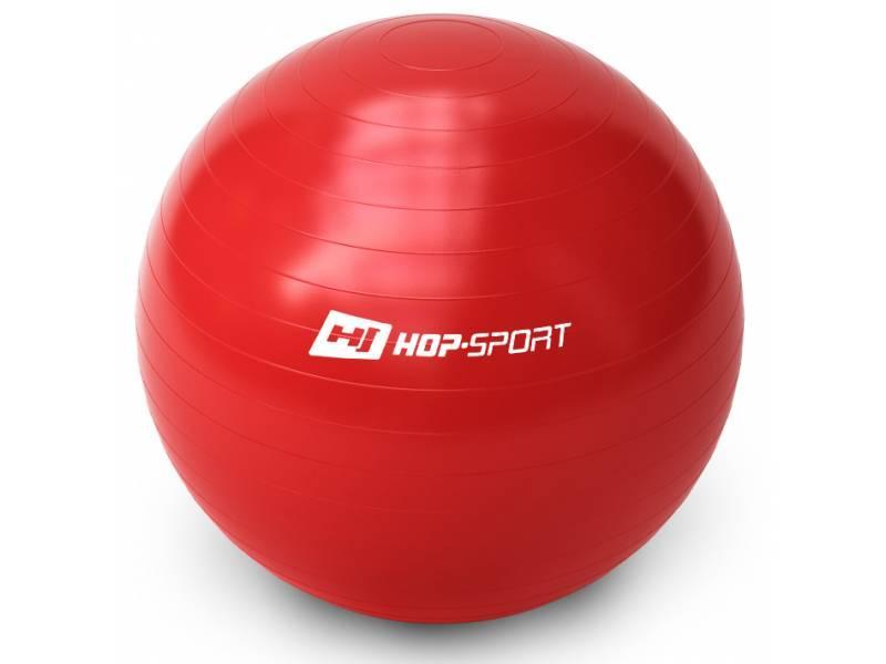 Фітбол Hop-Sport 65cm Red + насос
