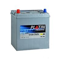 """Аккумулятор АКБ PLATIN Premium JP (6CT- 42Aз 370A; """"+"""" слева) L SMF нижнее крепление"""