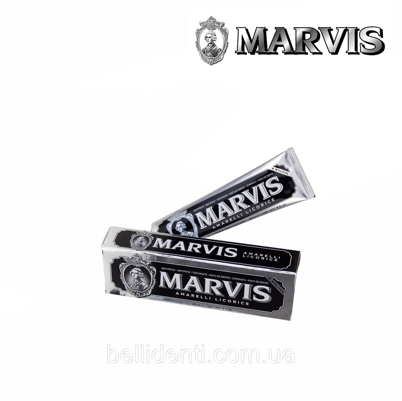 """Зубная паста Marvis """"Лакрица-мята"""", 85 мл"""