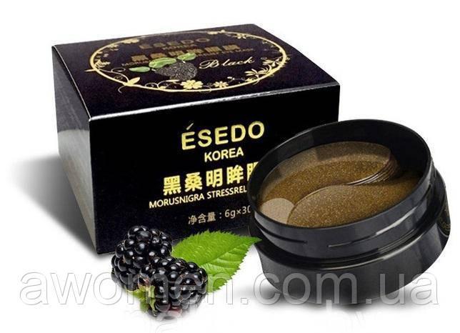 Патчи для глаз гидрогелевые ESEDO KOREA с экстрактом ежевики , 60 шт
