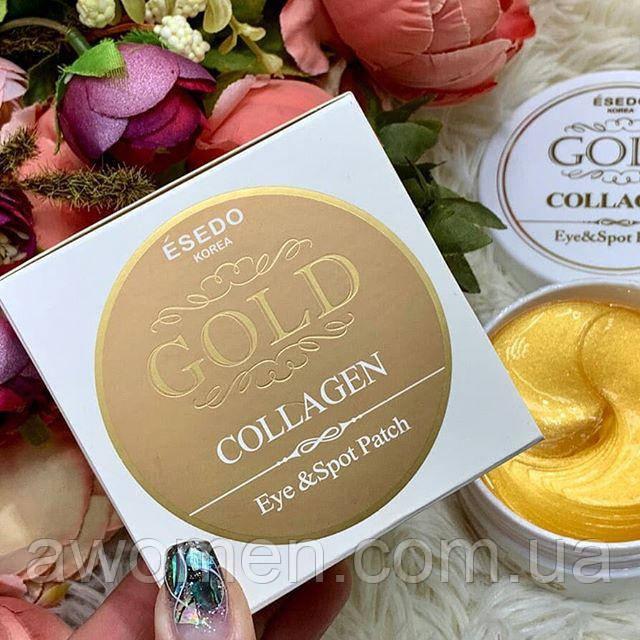 Гидрогелевые патчи для глаз Gold ESEDO Korea 60 шт