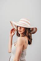 Шляпа широкополая Фарлей песочная