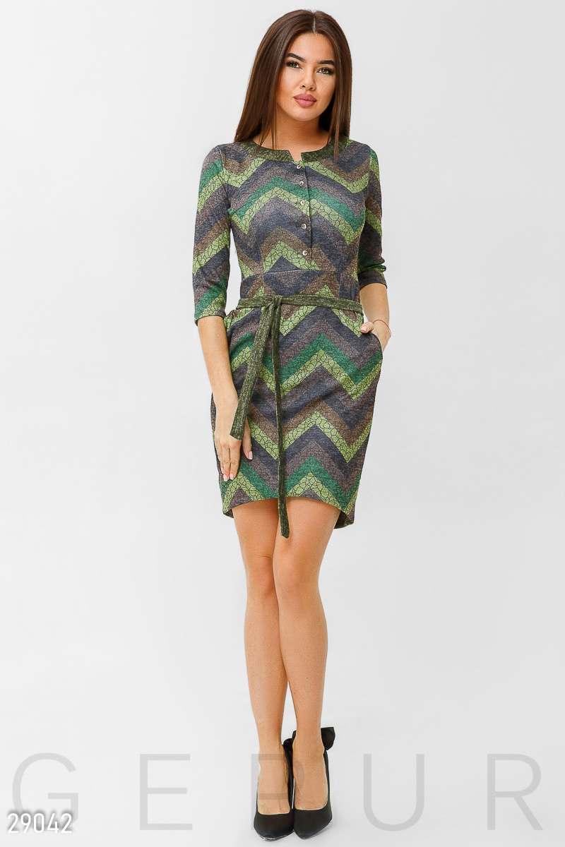 dd551b27aba1c17 Цветное трикотажное платье, цена 770 грн., купить в Мариуполе — Prom ...
