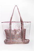 Шоппинг сумка Клэр розовая