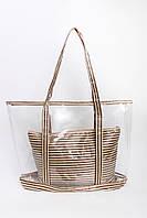Шоппинг сумка Клэр коричневая