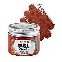 Краска акриловая Фабрика Декора 50мл Rustic Paint FDRP**_красная ржавчина