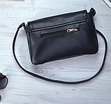 Женская черная сумка клатч код 9-55, фото 2