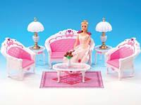 """Мебель для кукол """"Гостиная"""" Gloria, 2604"""