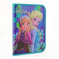 "Папка для праці пластикова на блискавці ""Frozen"""