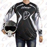 Джерси для мотокросса Thor QX-024 черная, размер М