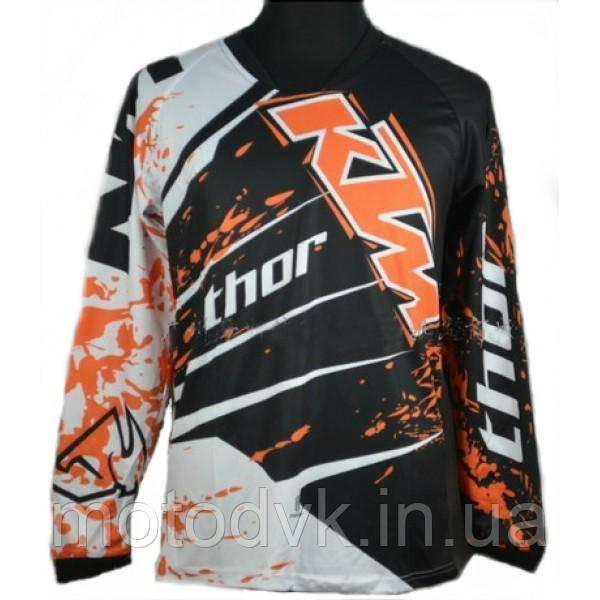 Джерси для мотокросса Thor QX-027  KTM, размер L