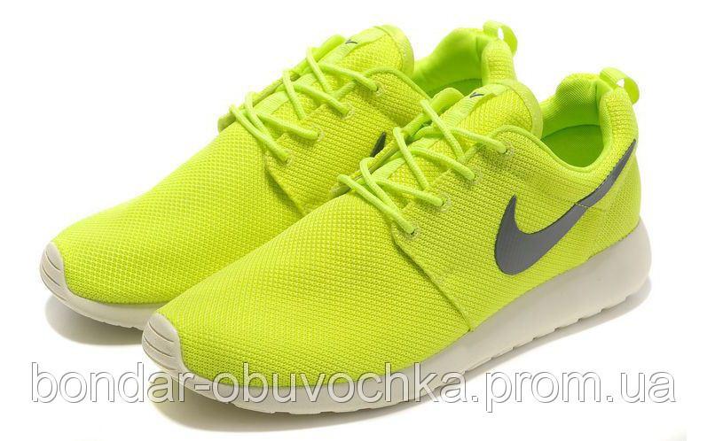 Кроссовки Nike Roshe Run реплика ААА+ размер 40-45 черный (живые фото)