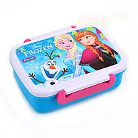 """Контейнер для їжі """"Frozen"""", 420 мл, з роздільником"""