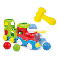 Музыкальный паровозик-каталка WinFun (0780-NL)