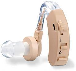 Заушный слуховой аппарат Cyber Sonic, чехол в комплекте, телесный