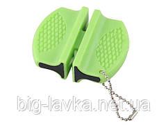 Кишенькова точилка для ножів Зелений