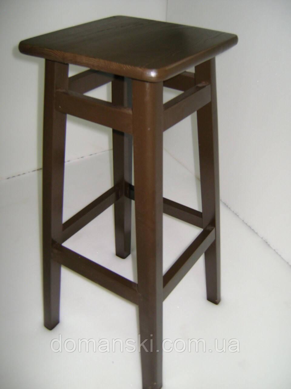 Барные стулья. Барный   табурет окрашеный. Стул для кофейни. 80 см высота.