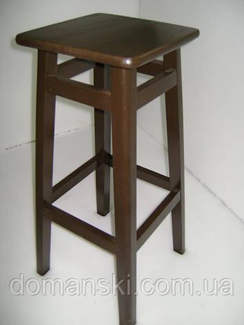 Барные стулья. Барный   табурет окрашеный. Стул для кофейни. 80 см высота., фото 2