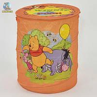 """Корзина для игрушек оранжевая """"Винни Пух"""""""