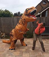 Надувной костюм Тираннозавра Хэллоуин Аниме Косплэй, костюм динозавра T-Rex.тиранозавр