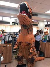 Надувной костюм Тираннозавра Хэллоуин Аниме Косплэй, костюм динозавра T-Rex.тиранозавр, фото 3