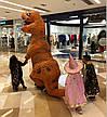 Надувной костюм Тираннозавра Хэллоуин Аниме Косплэй, костюм динозавра T-Rex.тиранозавр, фото 2