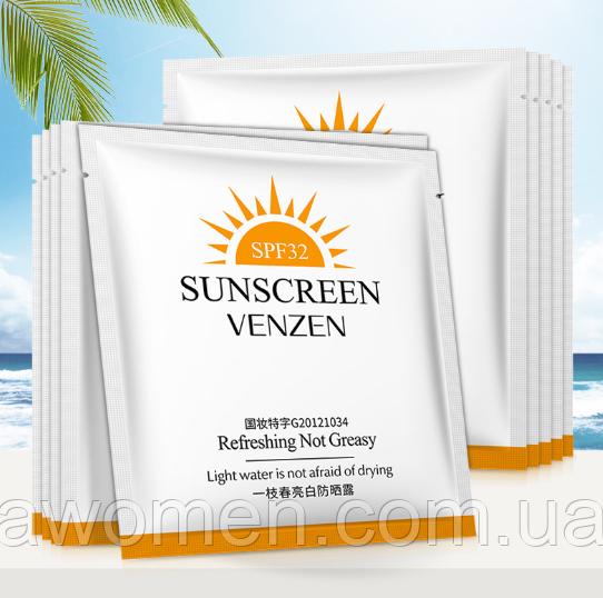 Защитный лосьон от солнца Venzen Sun 32+SPF PA+++ (3 g)
