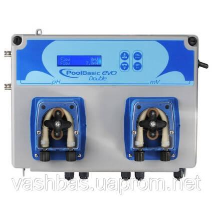 Aquaviva Система перистальтических доз.насосов AquaViva PH+H2O2 1,5л/ч + Измерительный набор, 1 шт