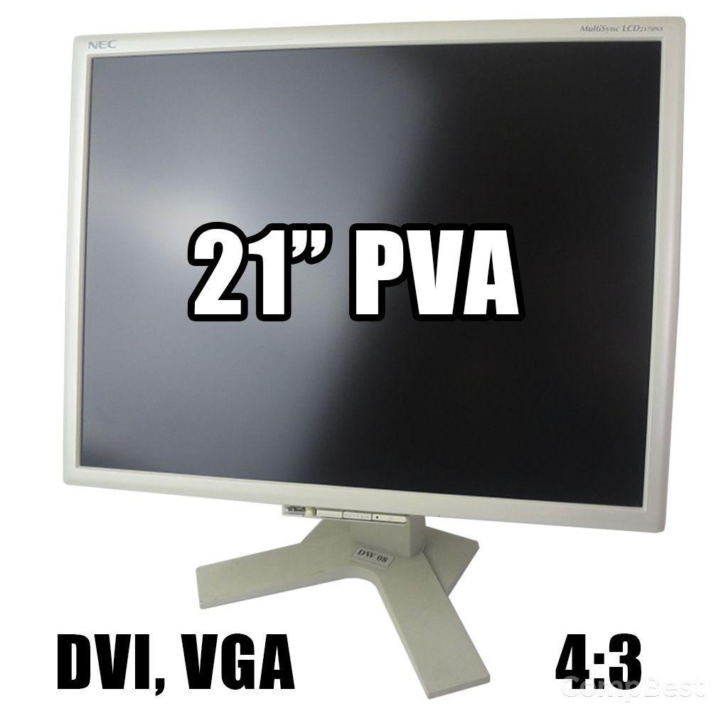 """NEC MultiSync 2170NX / 21"""" 1600x1200 (4:3) PVA / DVI, VGA"""