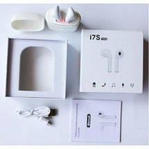 Bluetooth-гарнитура MDR Double I7S TWS BT с кейсом Стерео беспроводные наушники!, фото 2