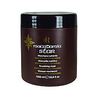 Маска для волос с маслом макадамии и коллагеном, 1000 мл.RLINE