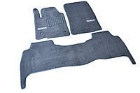 Ворсовые коврики для Lexus GX470 Текстильные в салон авто (серые) (StingrayUA.)