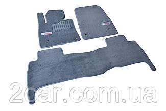 Ворсовые коврики для Toyota Auris (2013-)  Текстильные в салон авто (серые) (StingrayUA.)