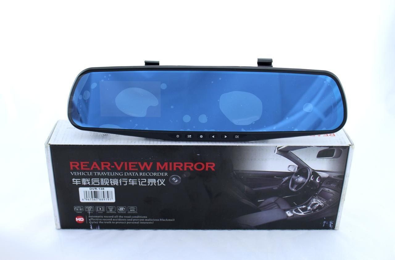Видеорегистратор DVR L9 зеркало без дополнительной камеры
