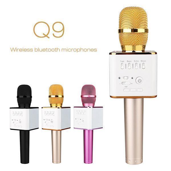 Беспроводной микрофон караоке bluetooth MicGeek Q9 Karaoke