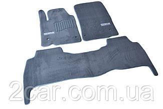 Ворсовые коврики для Lexus GX460 (2010-) Текстильные в салон авто (серые) (StingrayUA.)