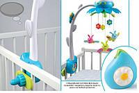 Музыкальный мобиль на кроватку цветочек Cotoons  Smoby 211374N