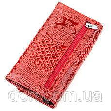 Кошелек женский KARYA 17241 кожаный Красный, Красный, фото 2