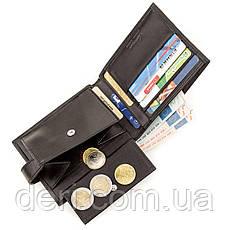 Бумажник мужской кожаный черный KARYA, фото 3