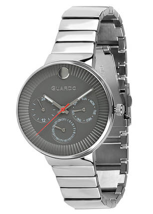 Часы женские Guardo B01400-(1)-1 серебряные, фото 2