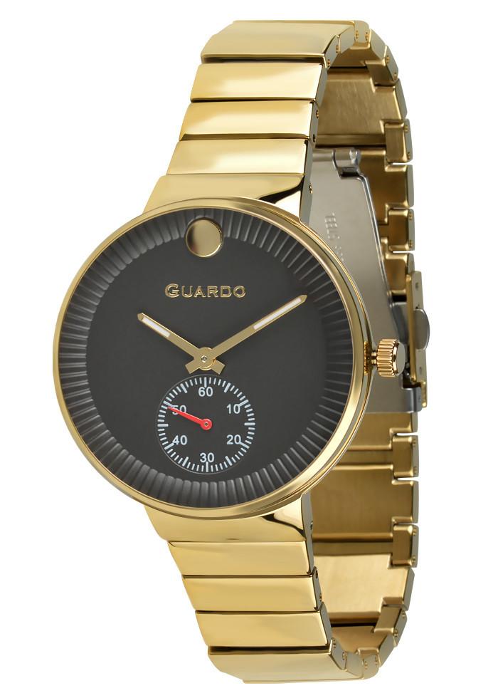 Часы женские Guardo B01400-(2)-3 золотые