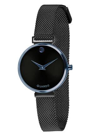 Часы женские Guardo B01401-9 черные, фото 2