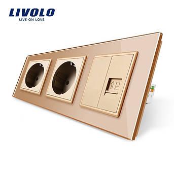 c0ad168ccf302 Комбинированные розетки Livolo оригинальная сертифицированная продукция