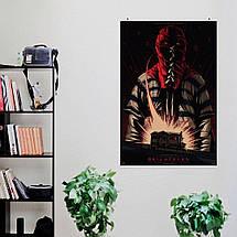 "Постер ""Гори, гори ясно"", Brightburn (2019), постер-рисунок. Размер 60x39см (A2). Глянцевая бумага, фото 3"