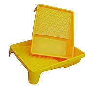 Ванна для валиков,большая 255*330 ЕВРО,желтая MasterTool 92-3320