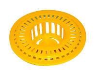 Ситечко для раковины пластиковое O60 мм MasterTool 92-0146