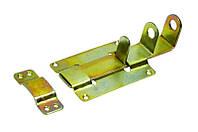 Задвижка для двери 155 мм плоская оцинкованная MasterTool 92-0170